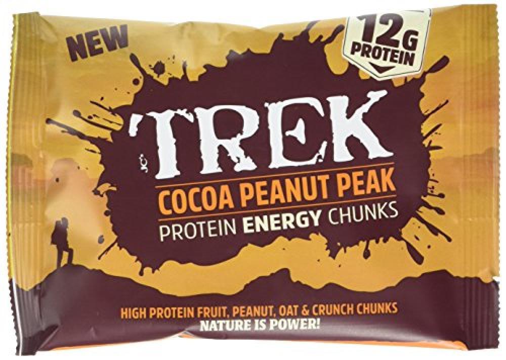 Trek Cocoa Peanut Peak Protein Energy Chunks 60g