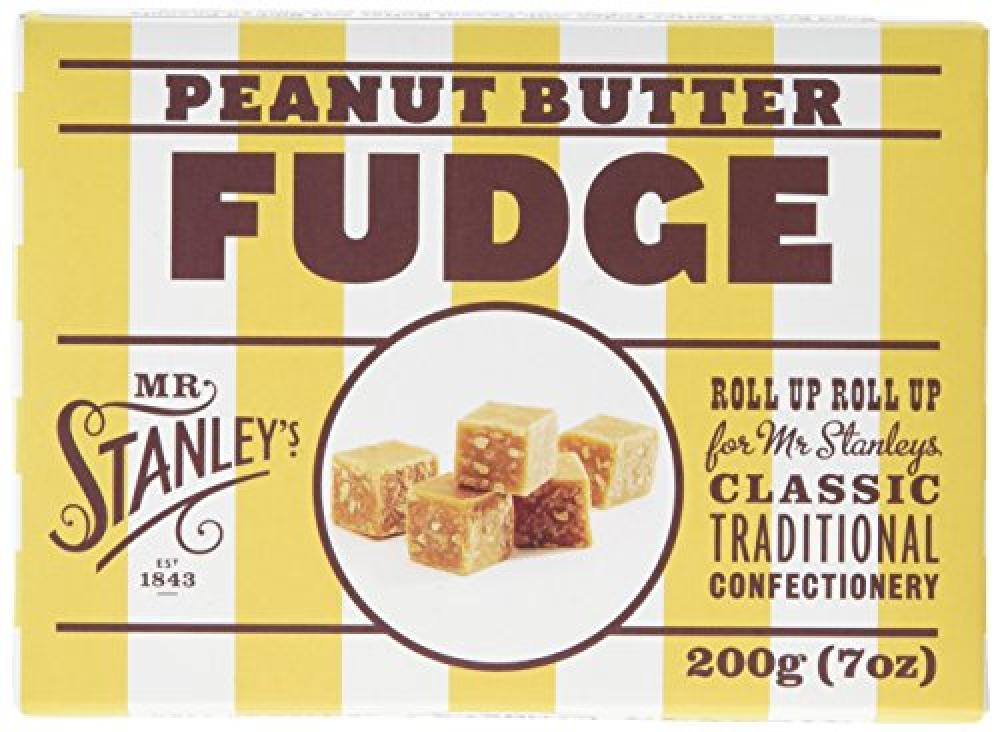 Mr Stanleys Peanut Butter Fudge 200 g