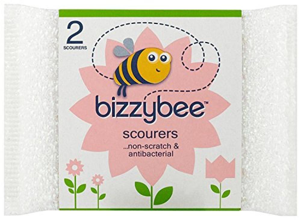 Bizzybee Non Scratch Scourers x 2