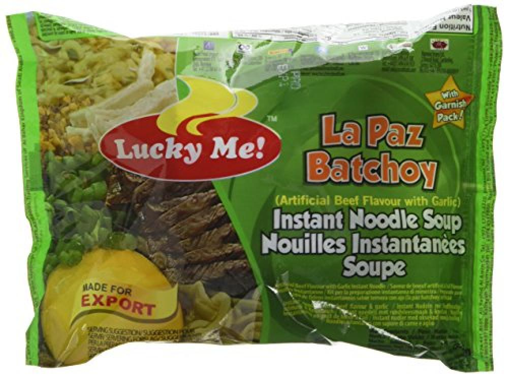Lucky Me La Paz Batchoy Instant Noodle Soup 60g