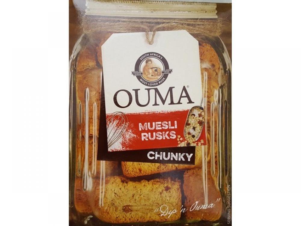 Ouma Muesli Rusks Chunky 500g