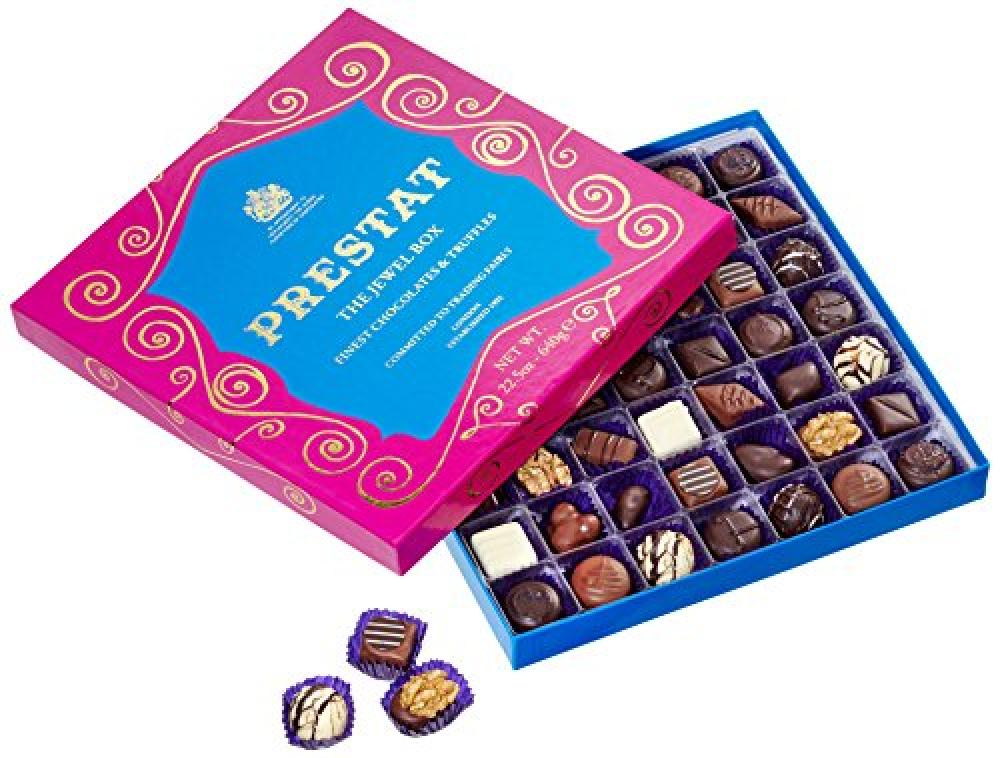 Prestat Fine Chocolate Assortment in Extra Large Jewel Box 640 g