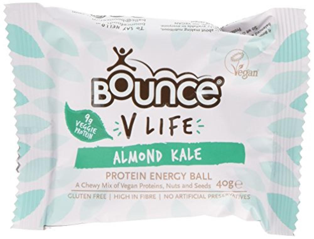 Bounce V Life Vegan Protein Energy Ball Almond Kale 40 g