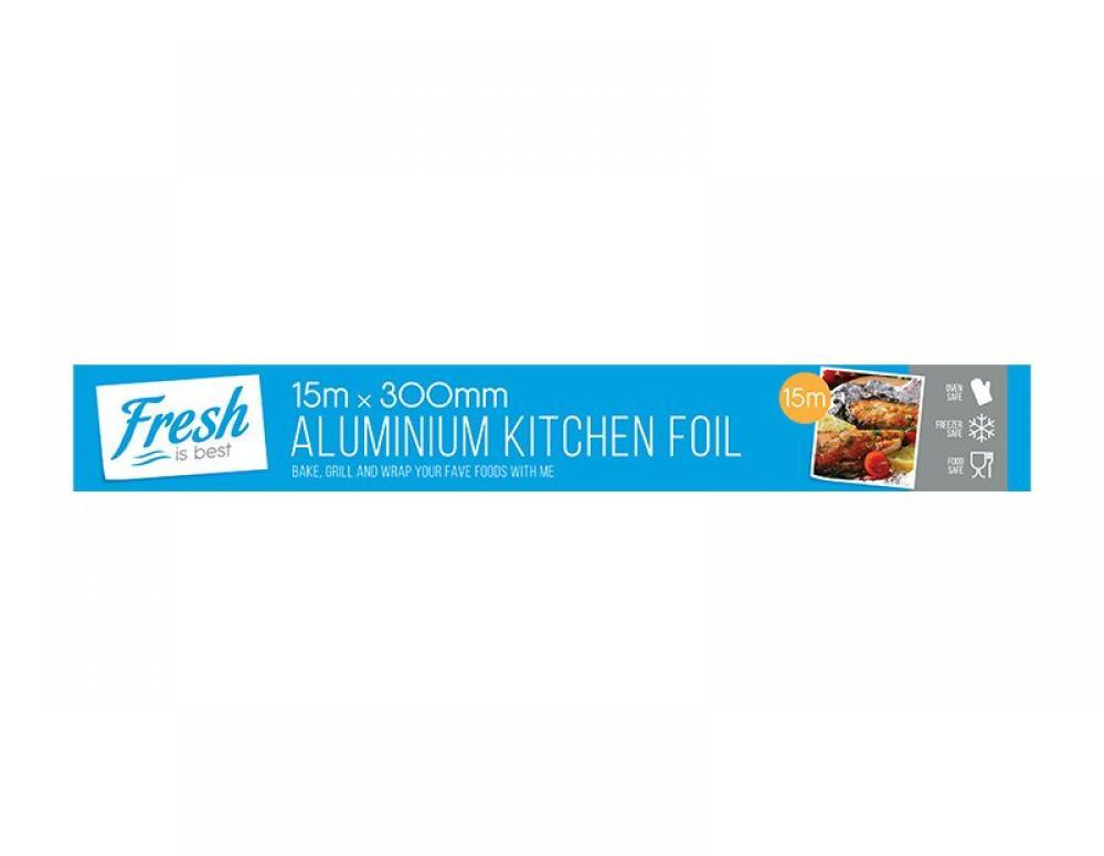 Fresh Is Best Aluminium Kitchen Foil 15m