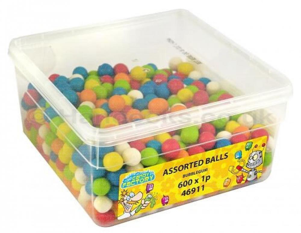 Crazy Candy Factory Assorted Balls 972g