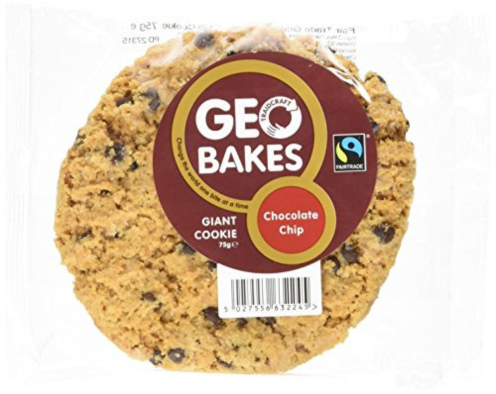 Traidcraft Chocolate Chip Giant Cookie 75 g