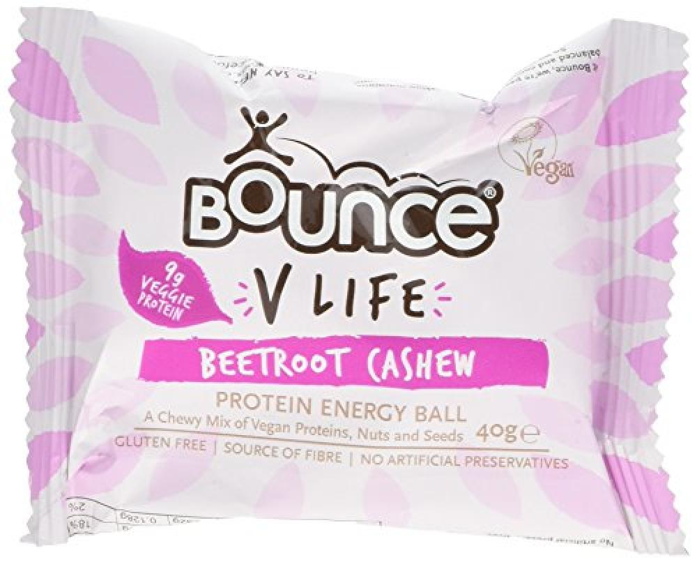 Bounce V Life Protein Energy Ball - Beetroot Cashew 40g