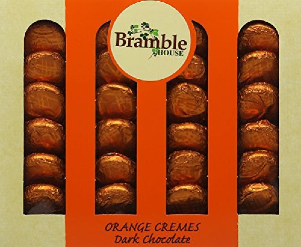Bramble Foods Orange Cremes Dark Chocolate 200g