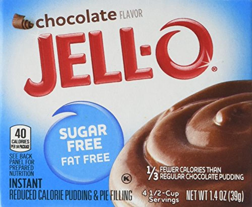 Jell-O Sugar Free Chocolate Pudding 39g