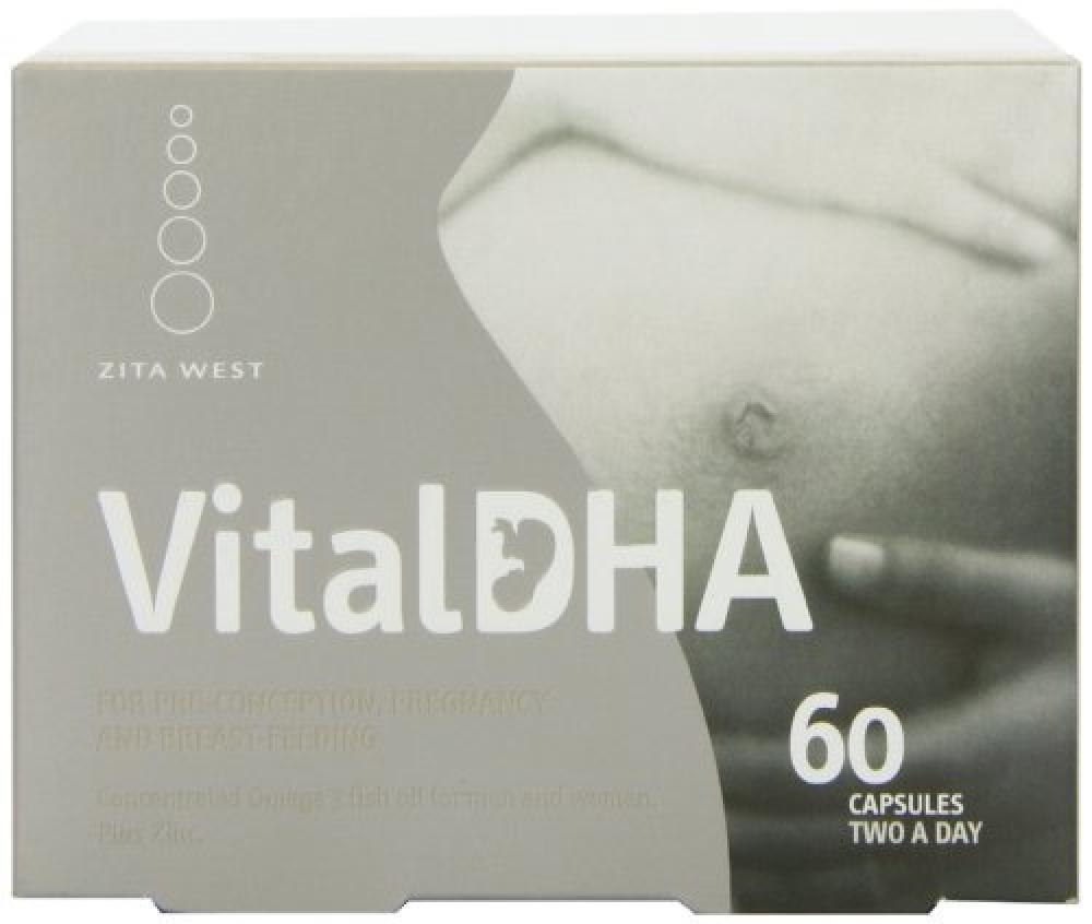 Vital DHA Omega 3 fish oil 60 tabs