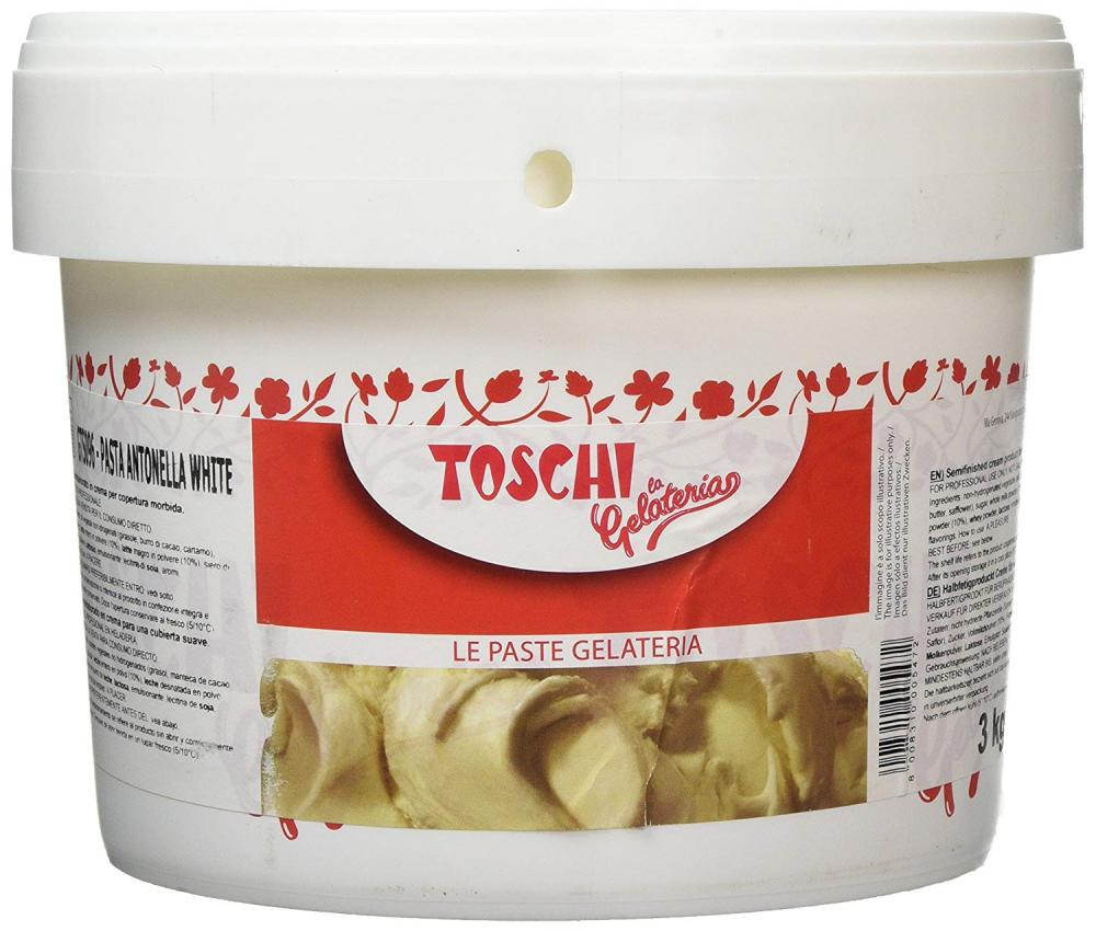 Toschi Antonella White Chocolate Paste 3kg