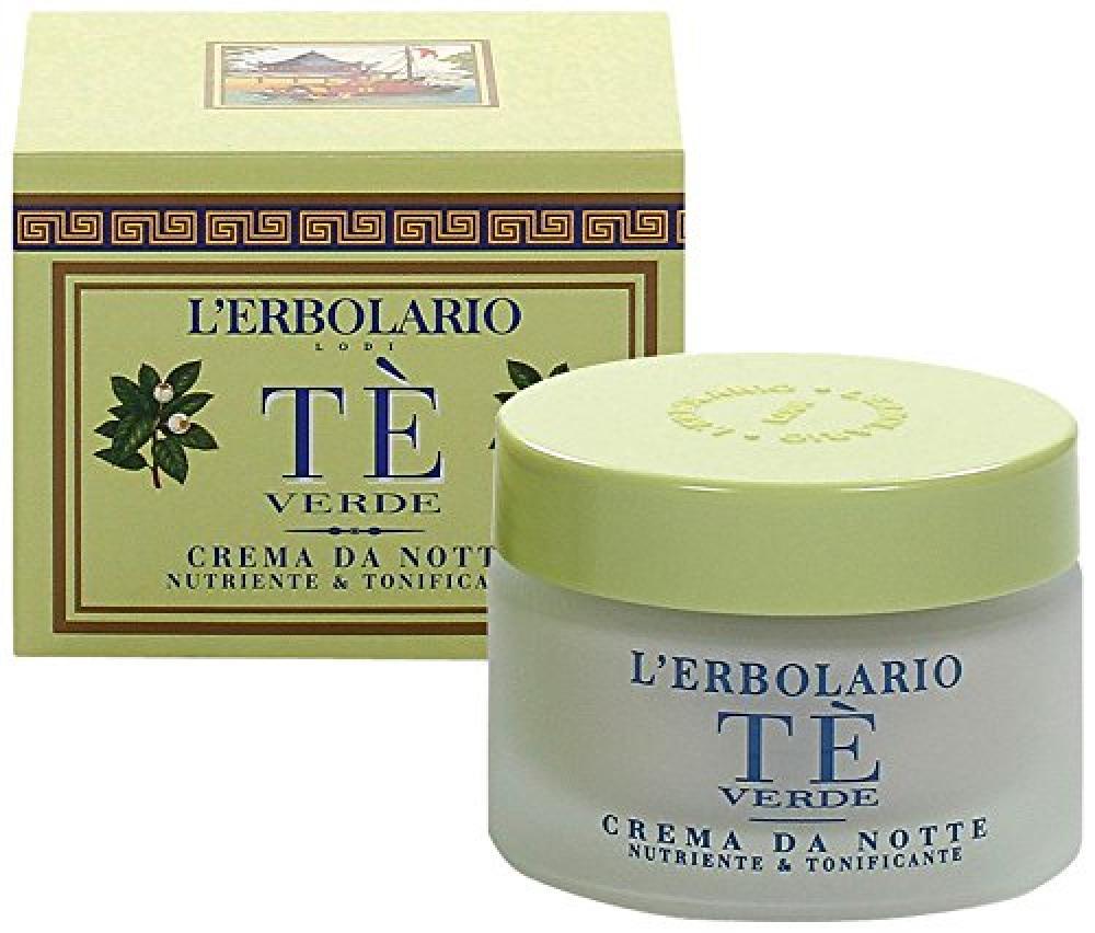 LErbolario Green Tea Night Face Cream 50 ml