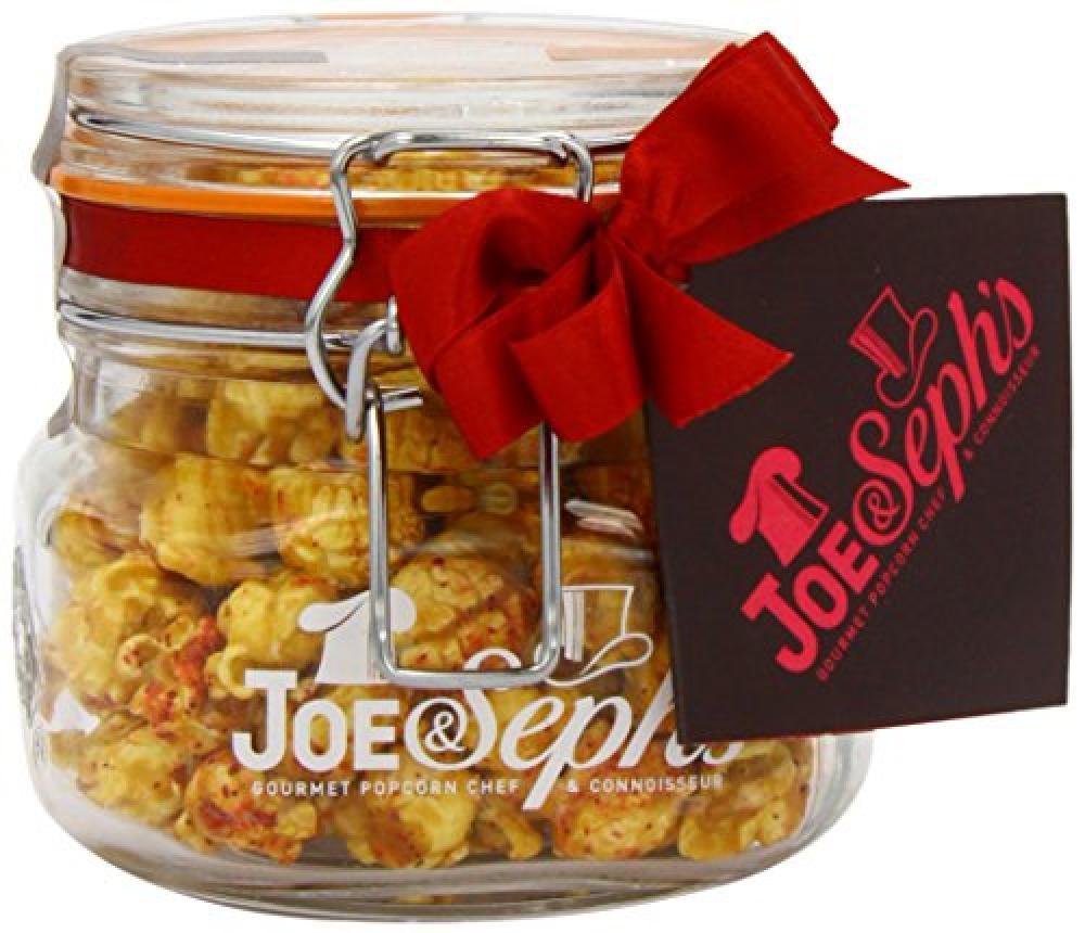 Joe and Sephs Cosmopolitan Popcorn with Cranberry Orange Lime Vodka and Triple Sec 80g