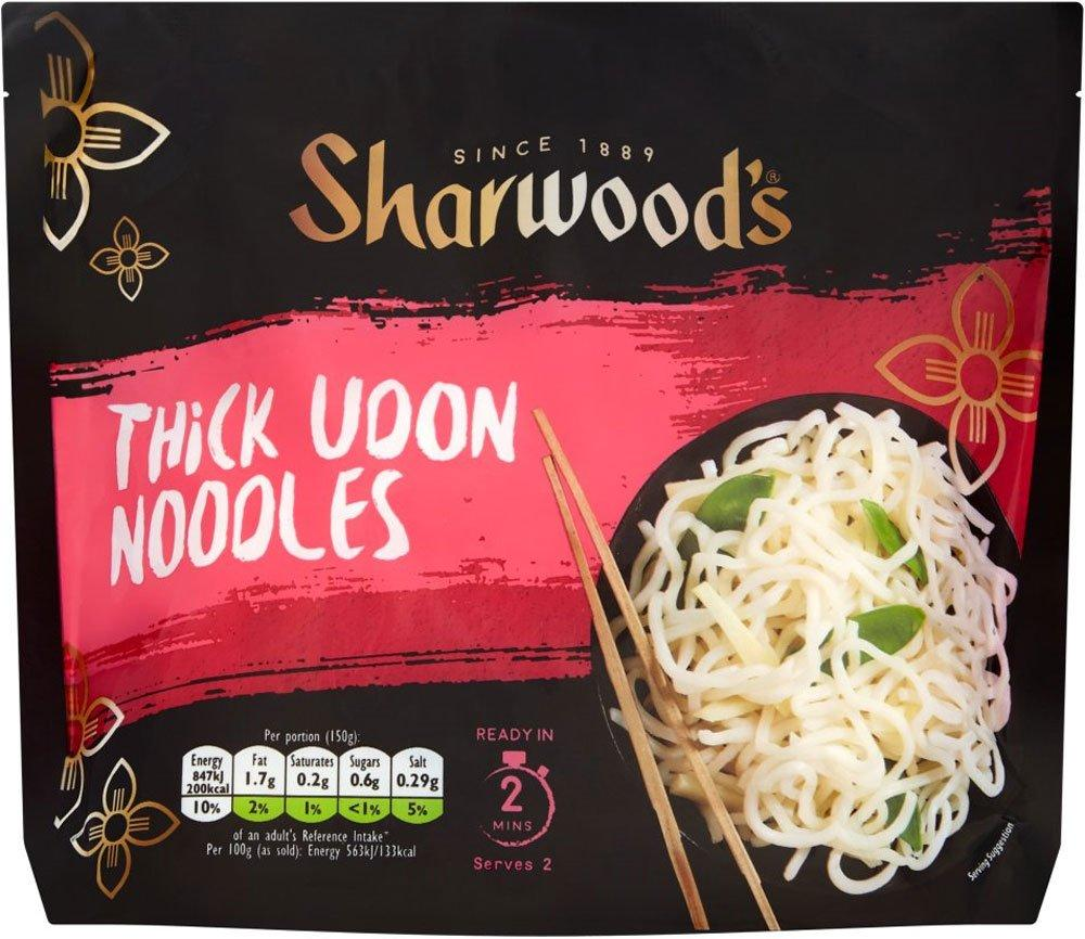 Sharwoods Thick Udon Noodles 300g