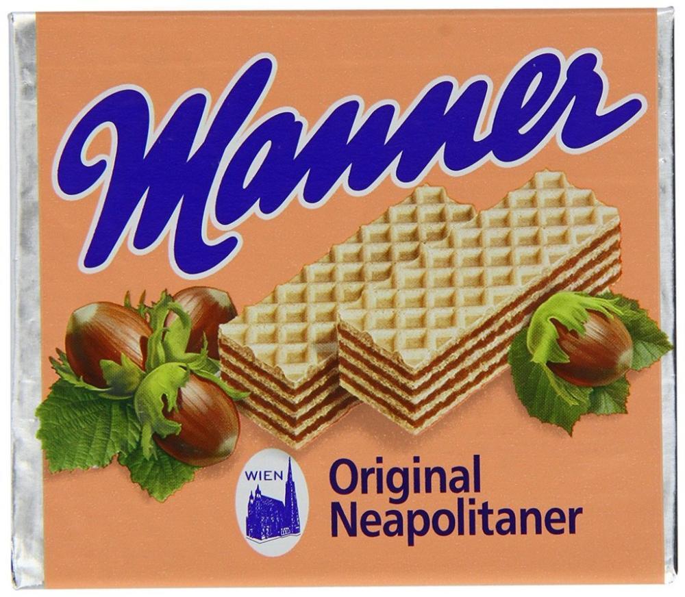 Manner Original Neapolitaner Wafers 75 g
