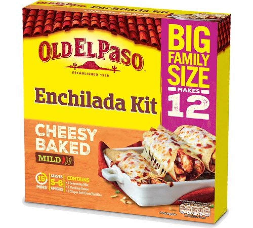 Old El Paso Enchilada Kit Cheesy Baked 995g
