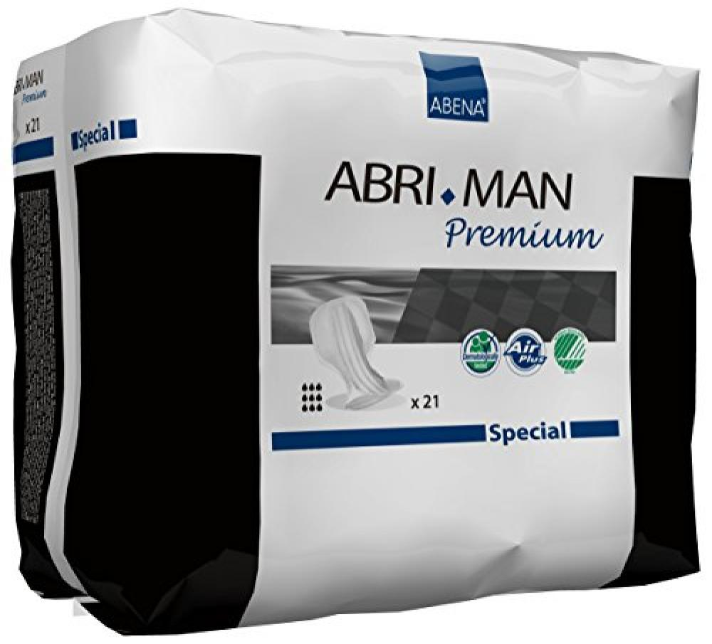 Abena Abri-Man SpecialMale Shaped Pad 21 pads