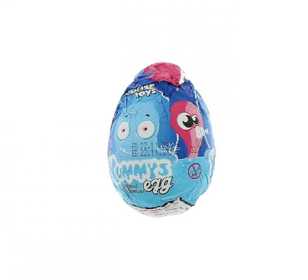 Yummys Chocolate Surprise Egg 20g