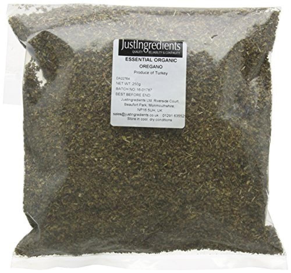 JustIngredients Essential Organic Oregano 250 g