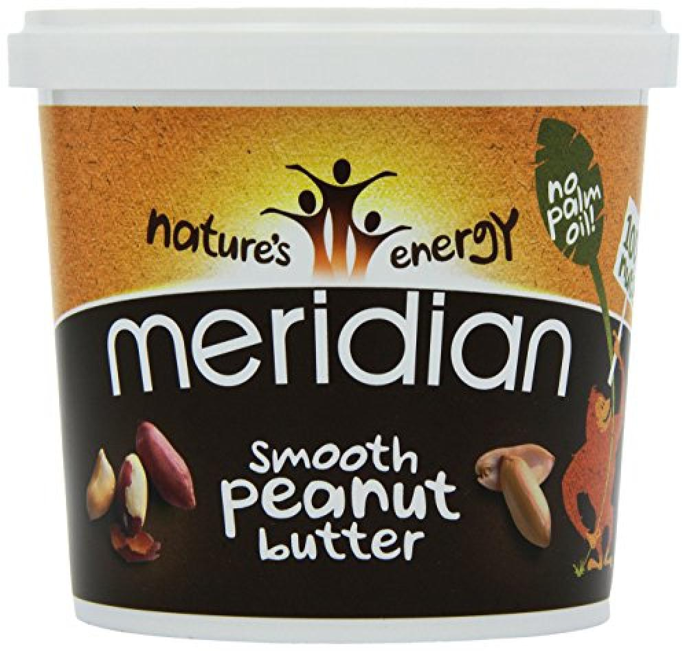 Natures Energy Meridian Smooth Peanut Butter 1kg
