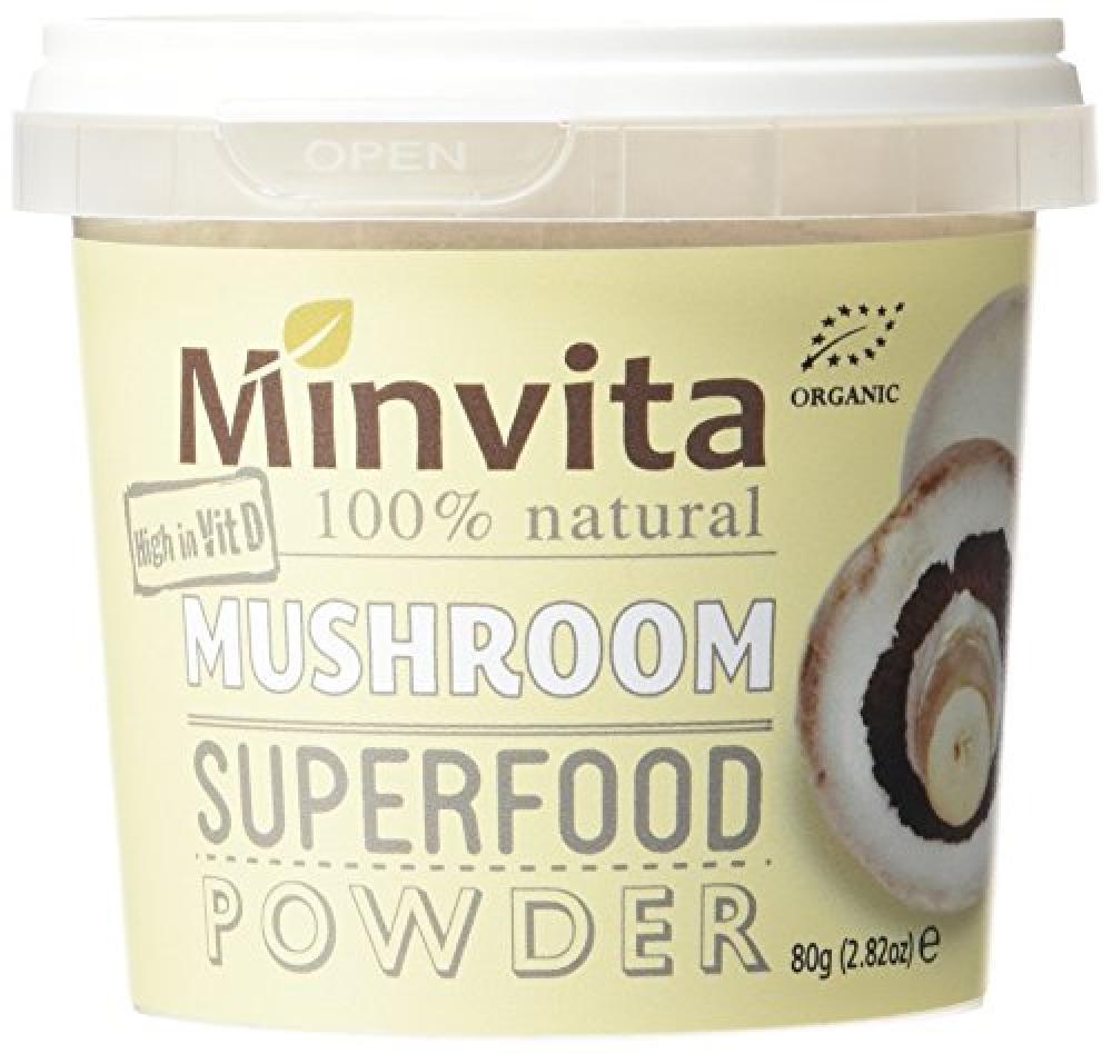 Minvita Mushroom Superfood Powder 80g
