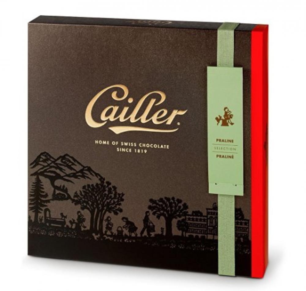 CAILLER Pralin Chocolate Selection Large Box Assortment 25 Piece 222g