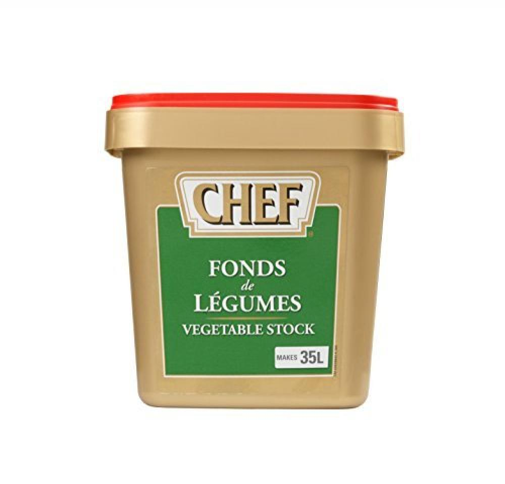 Chef Fonds de Legumes Vegetable Stock 800g