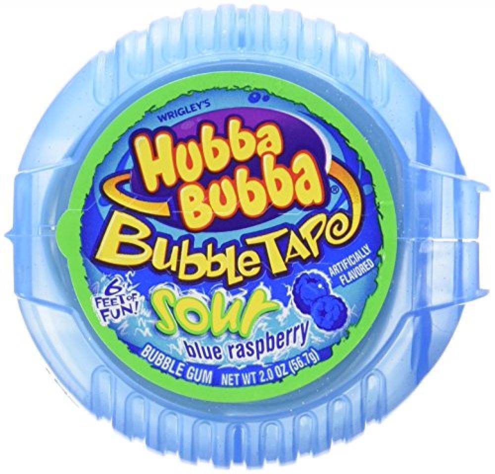 Hubba Bubba Bubble Tape Snappy Strawberry Bubble Gum 56.7g