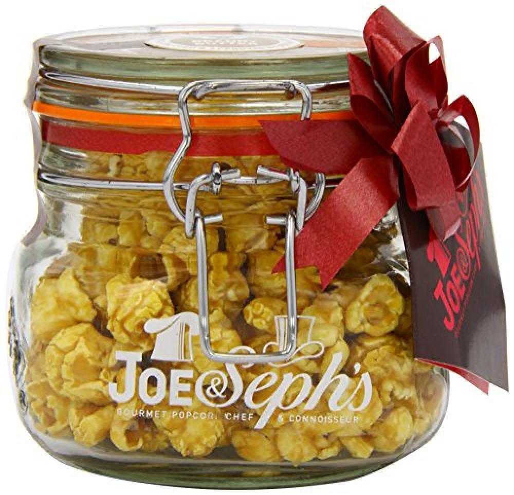 Joe and Sephs Kilner Jar of Brandy Butter Popcorn 80g