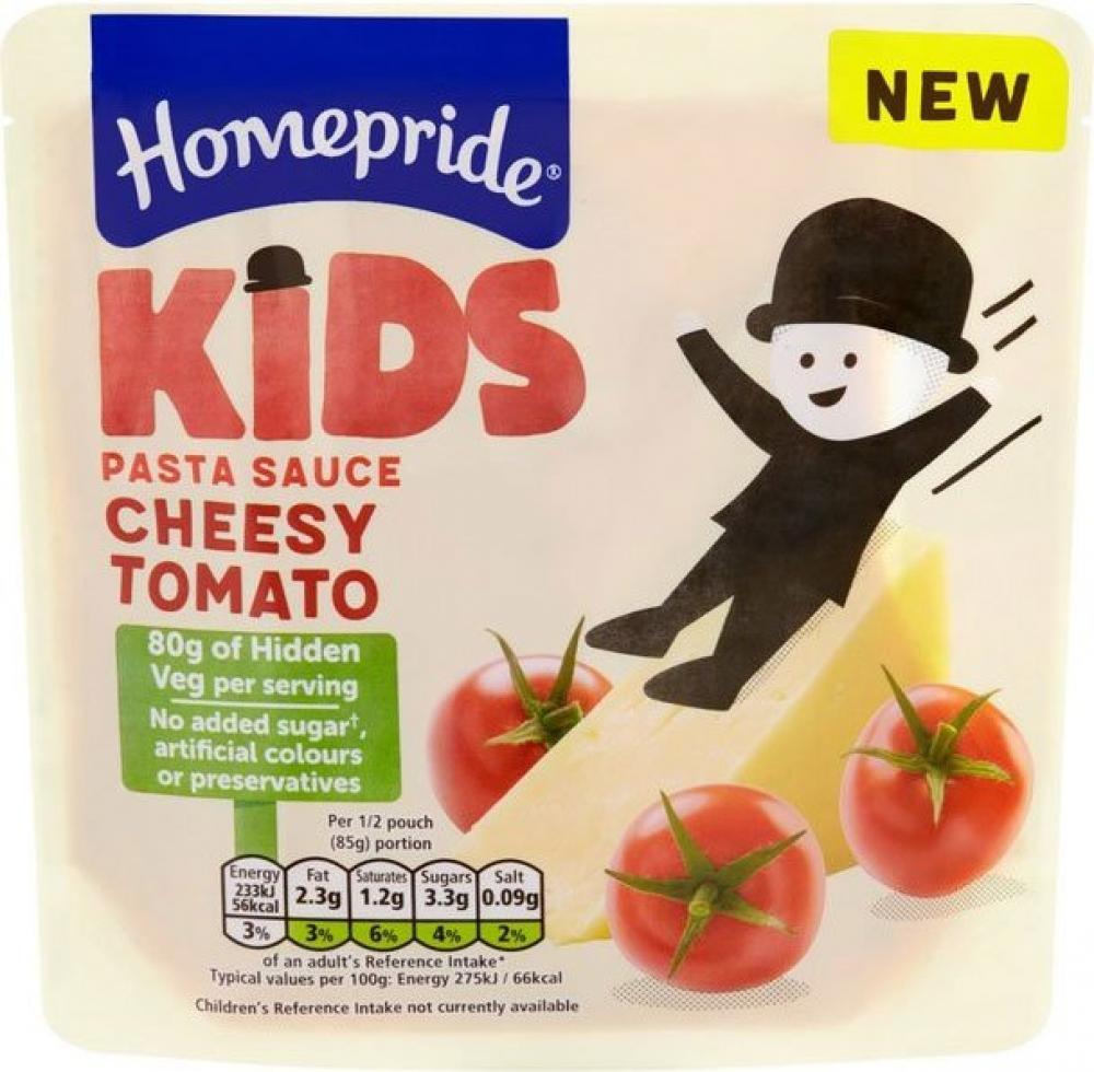 Homepride Kids Cheesy Tomato Pasta Sauce 170g