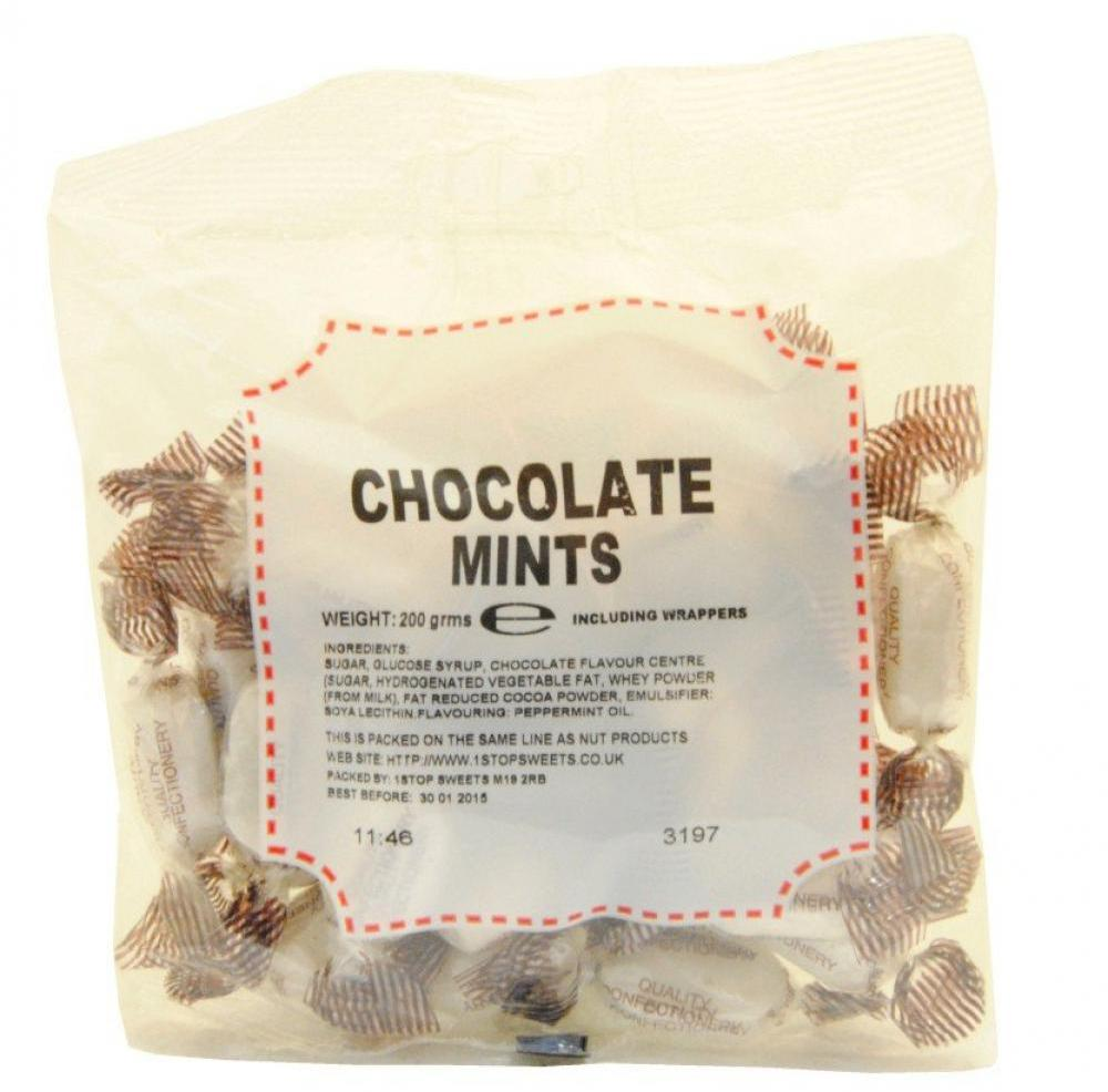 House Of Candy Chocolate Mints 200g