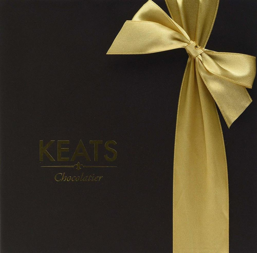 Keats Chocolatier Dark Chocolate Truffle Gift Box 200g