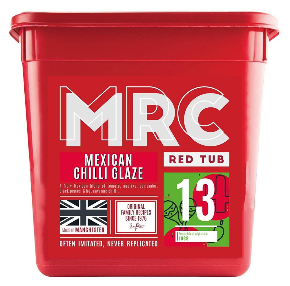 MRC Red Tub Mexican Chilli Glaze 2.5kg