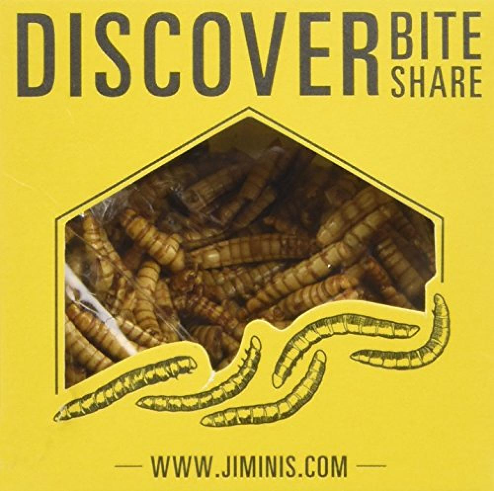 Jiminis Imperial Soy Mealworms 18 g