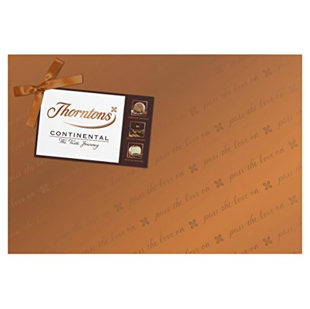 Thorntons Collection - Milk Dark and White Chocolates 142g