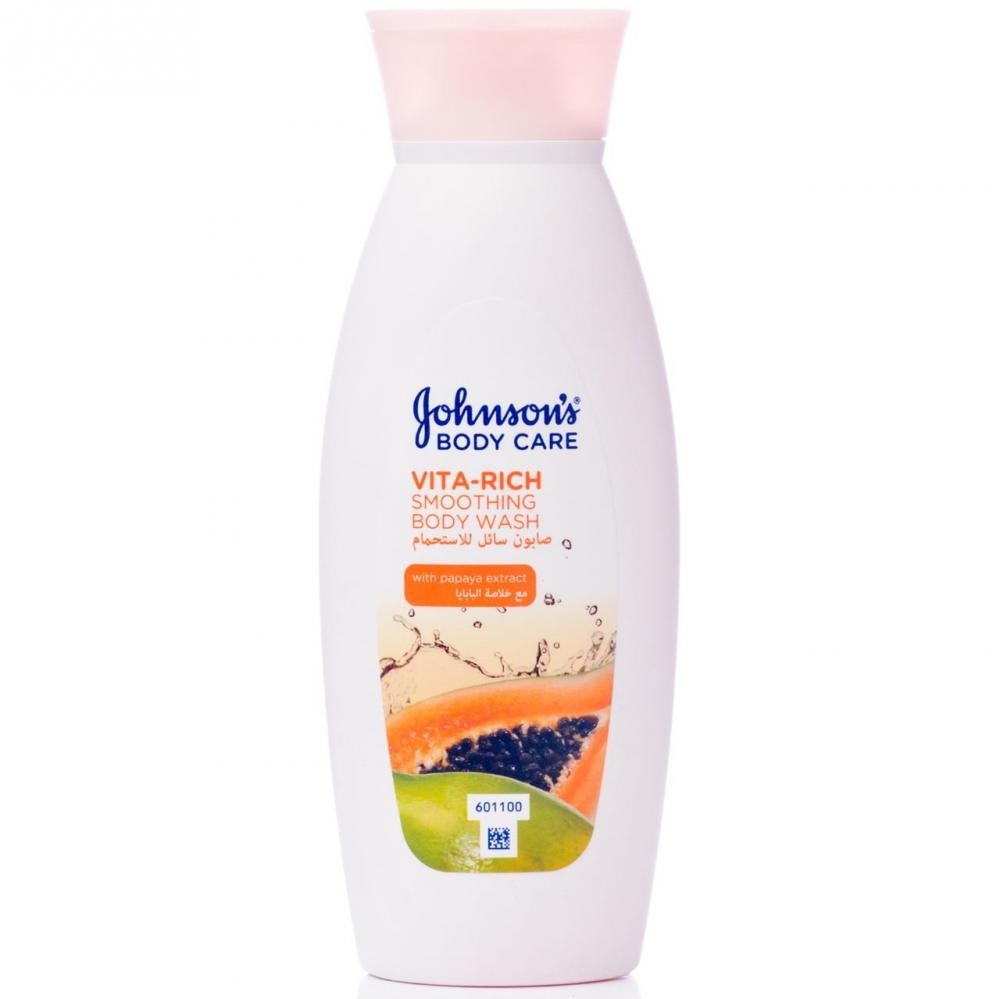 Johnsons Body Care Vita-Rich Smoothing Body Wash 250ml