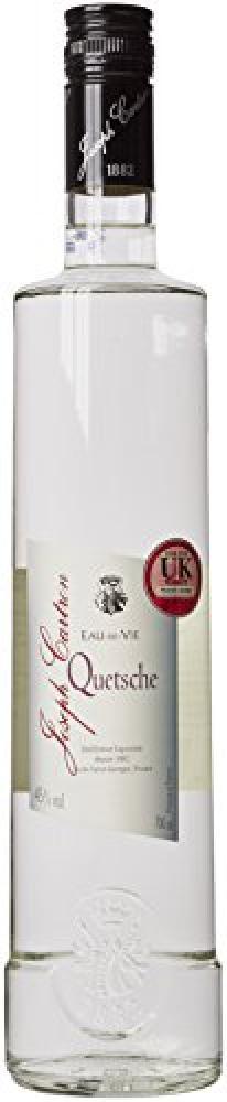 Joseph Cartron Water Spirit of Quetsche Brandy 70 cl