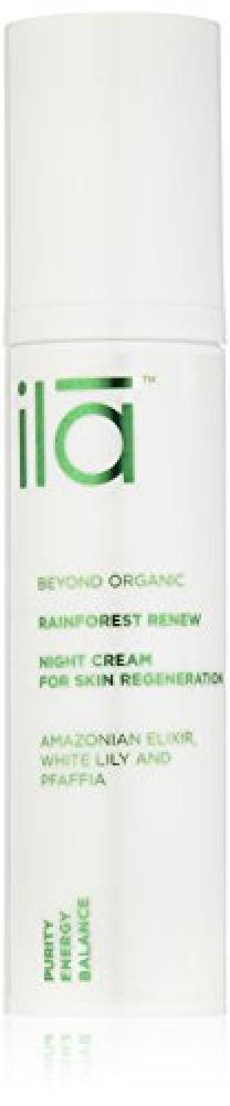 Ila Rainforest Renew Night Cream for Skin Regeneration 50 ml
