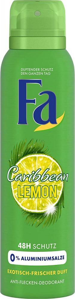 Fa Caribbean Lemon Deodorant Spray 150 ml