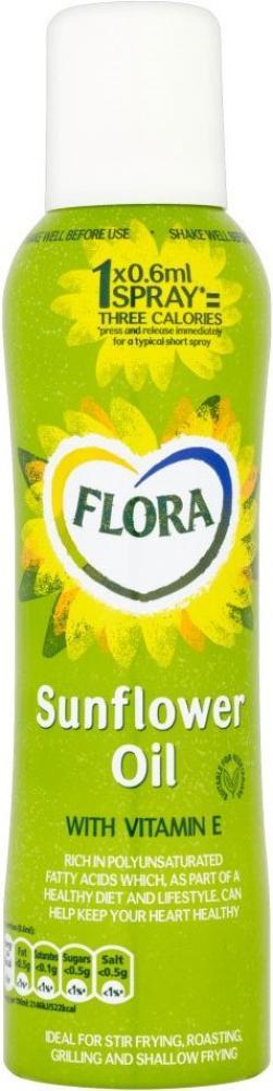 Flora Sunflower Oil Cooking Spray 200ml