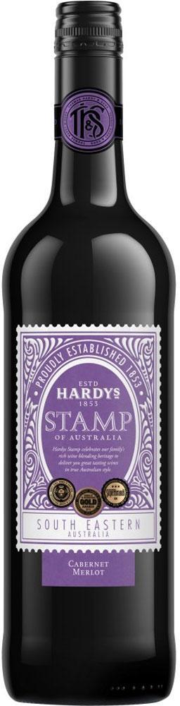 Hardys Stamp Cabernet Merlot Wine 750ml