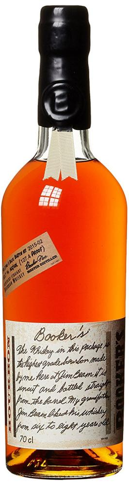 Bookers 6 Year Old Bourbon Whiskey 70cl