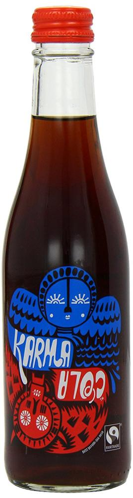 Karma Cola Organic Carbonated Cola Flavoured Soft Drink 330ml
