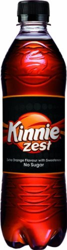 Kinnie Zest Extra Orange Flavour Soft Drink 500 ml
