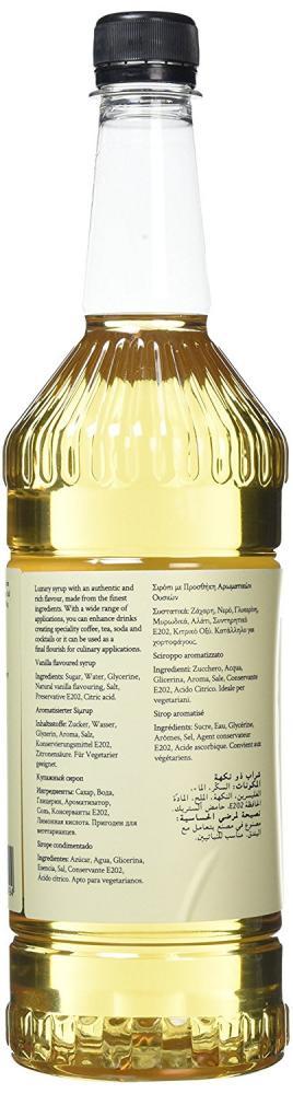 Simply Vanilla Syrup 1 Litre