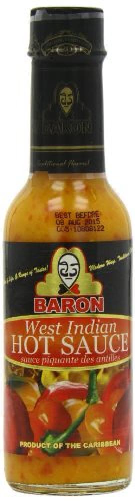 Baron West Indian Hot Sauce 155g