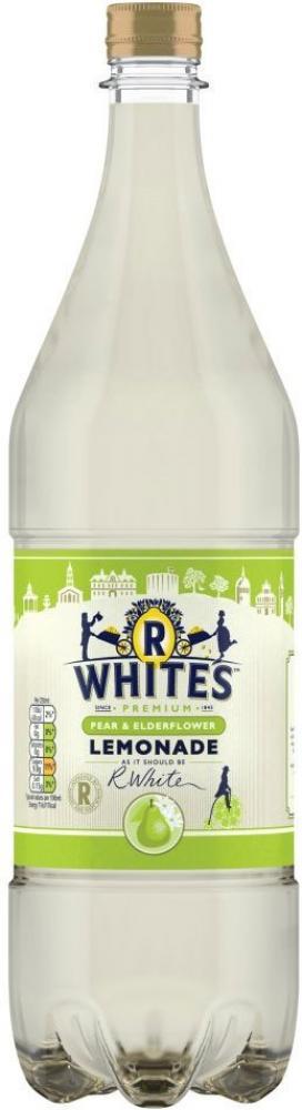 R Whites Pear and Elderflower Lemonade 1.25l