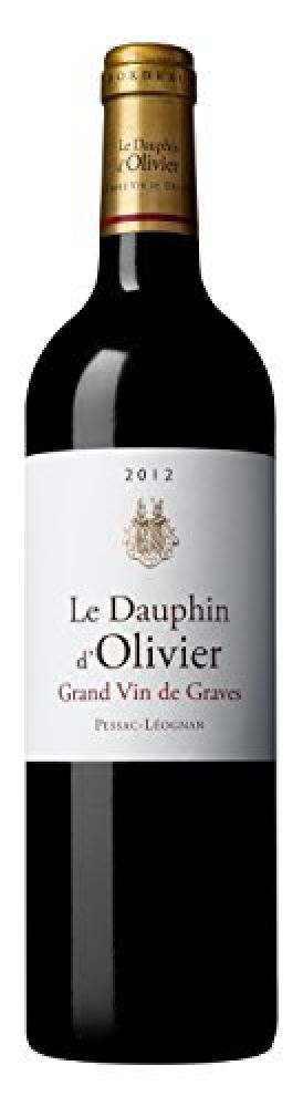 Chateau Olivier Le Dauphin dOlivier 2012 Red Wine 75 cl