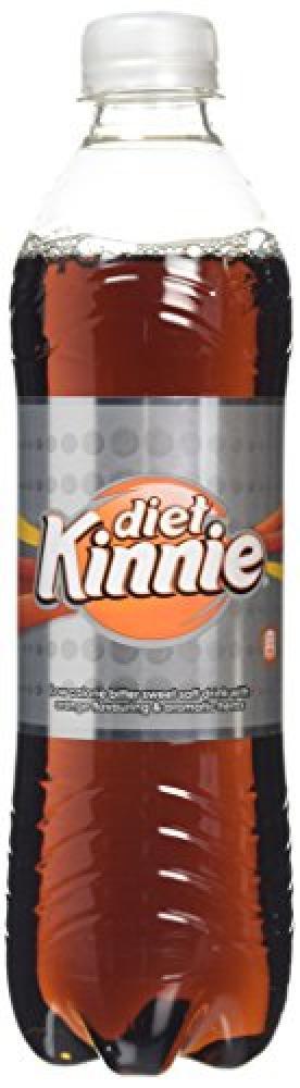 Kinnie Diet Orange and Herbal Flavour Soft Drink 500g