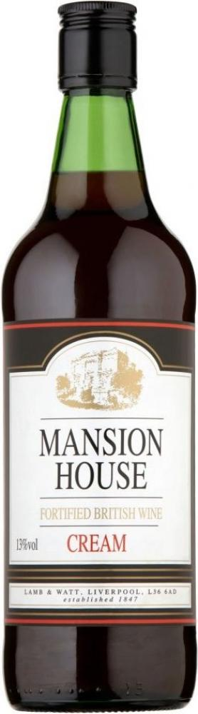 Mansion House Fortified British Wine Cream 1l